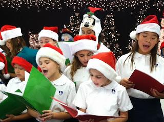 Montgomery Catholic Elementary Choir Brings Christmas Cheer to Seniors. 2