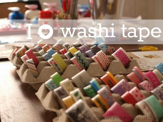 Taller de washi tape en Granada