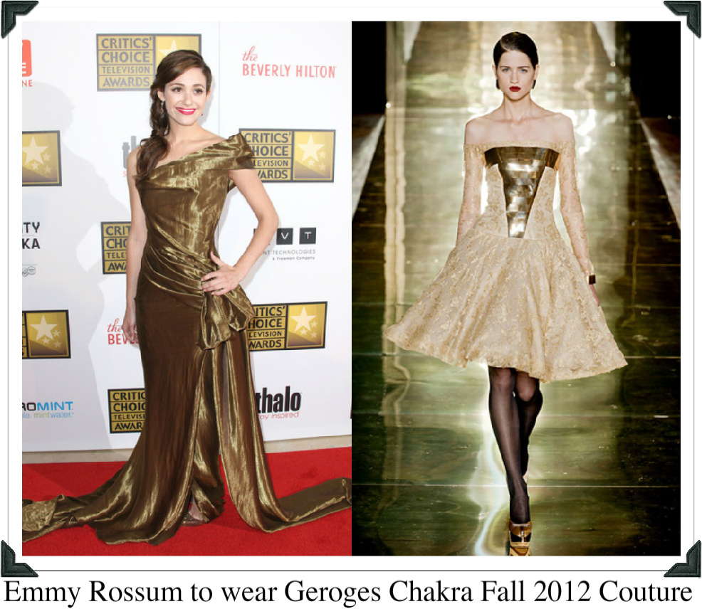 If i was a stylist haute couture wish list georges chakra for Haute couture list
