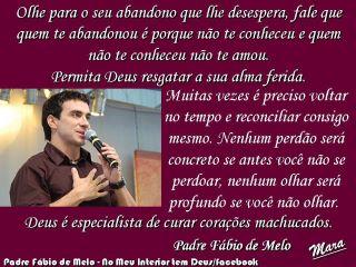 Programa A Noite é Independente Frases Do Padre Fábio De Melo