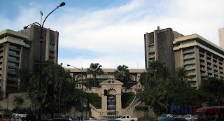 Peninsula Manila Hotel in Metro Manila