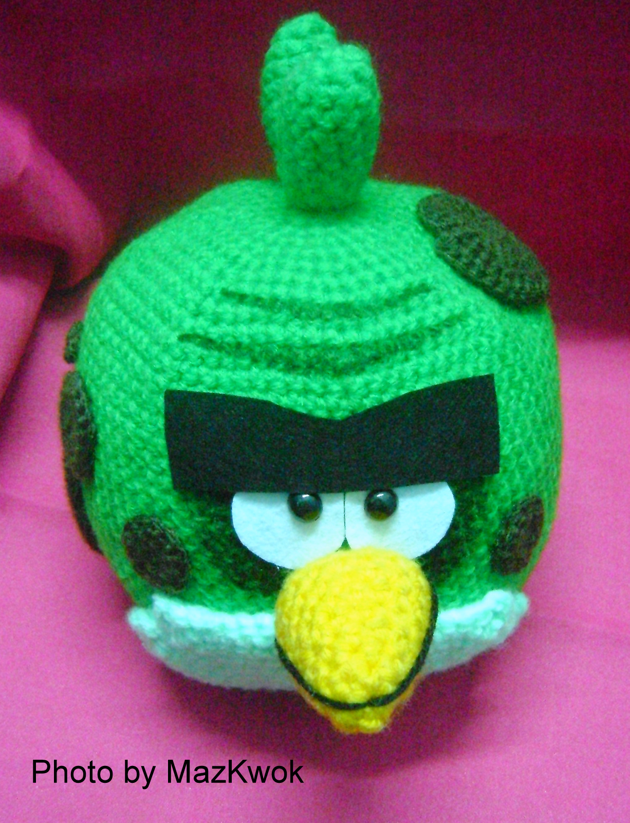 Be A Crafter xD: Angry bird space version - Big green bird ...