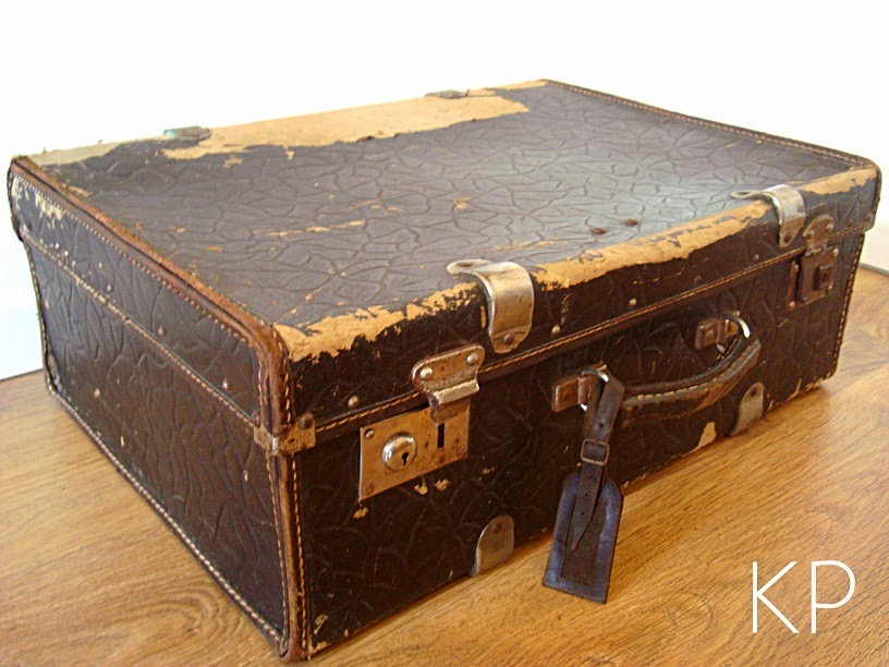 Quiero una maleta antigua