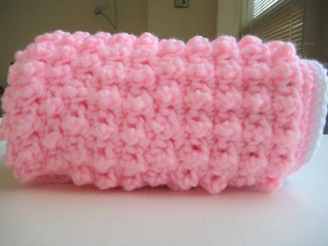 "Bubblegum 6"" block Free Crochet Pattern 