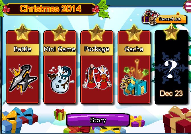 Cheat Ninja Saga Christmas 2014