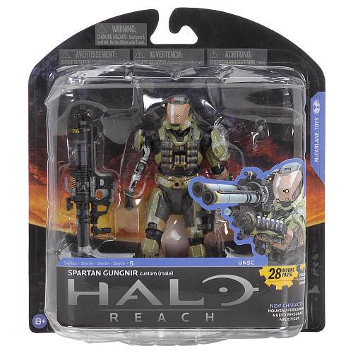 Halo Reach Series 5 Skirmisher Murmillo w// Plasma Pistol /& Grenade Action Figure
