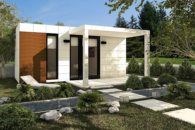 Módulo de jardín con cubierta plana - Suite 18 de Resan