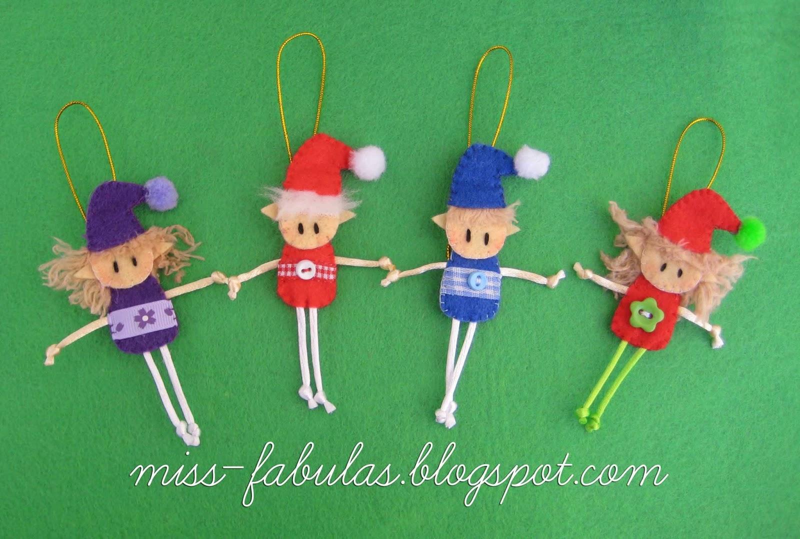Miss f bulas diciembre 2013 - Adornos de navidad hechos a mano por ninos ...