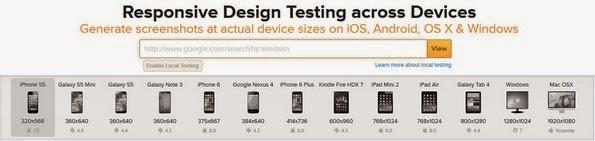 Impressive BrowserStack responsive testing