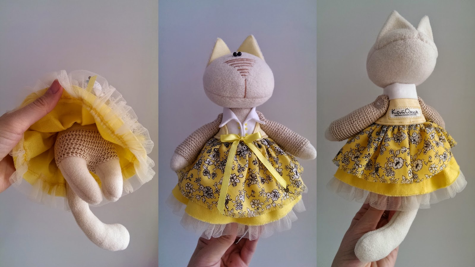 игрушка кошка