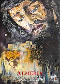 Cartel semana santa de Almeria 2014