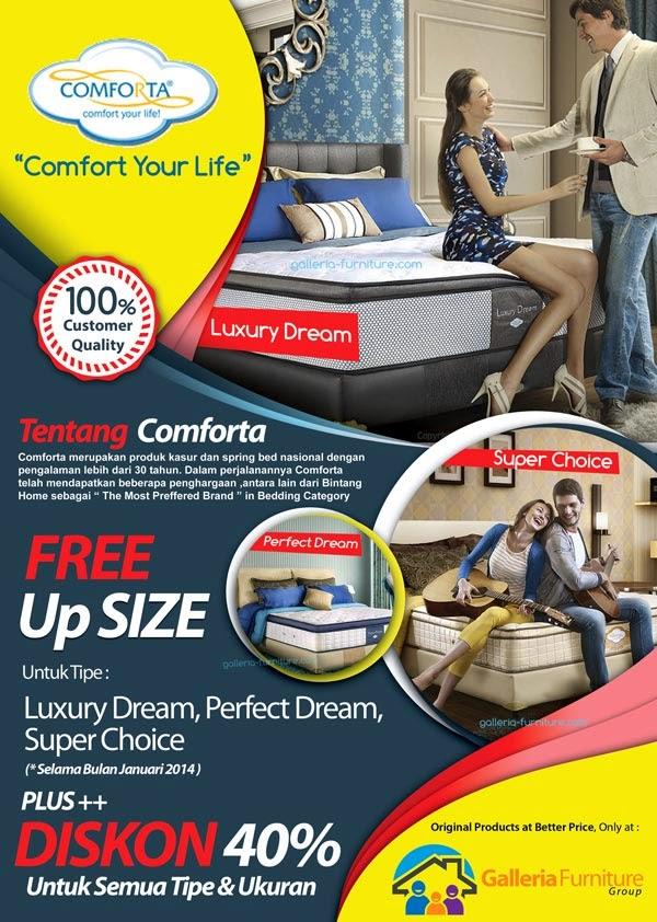Galleria Furniture Bandung - Promo Comforta