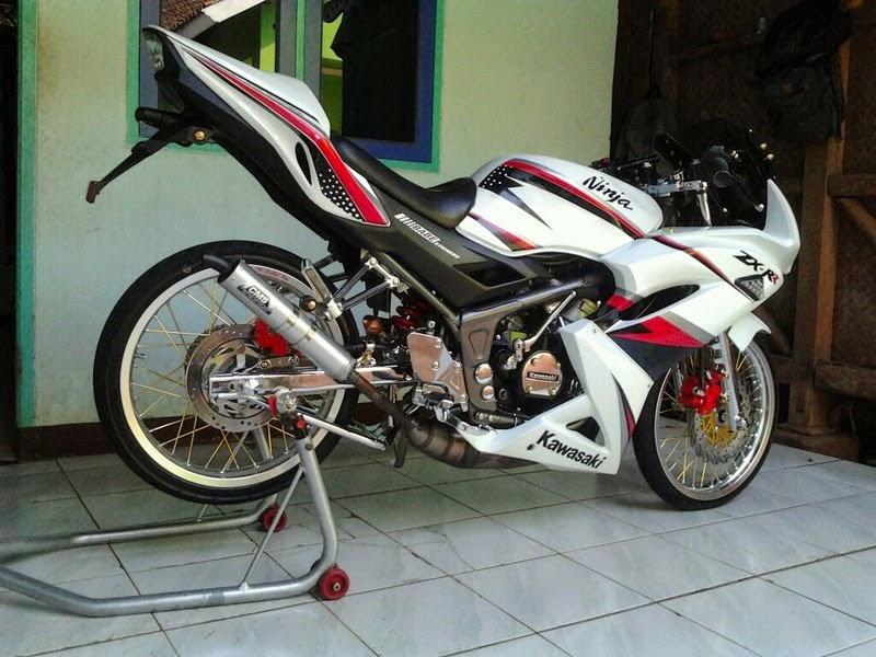 Top modifikasi motor ninja rr 2 tak