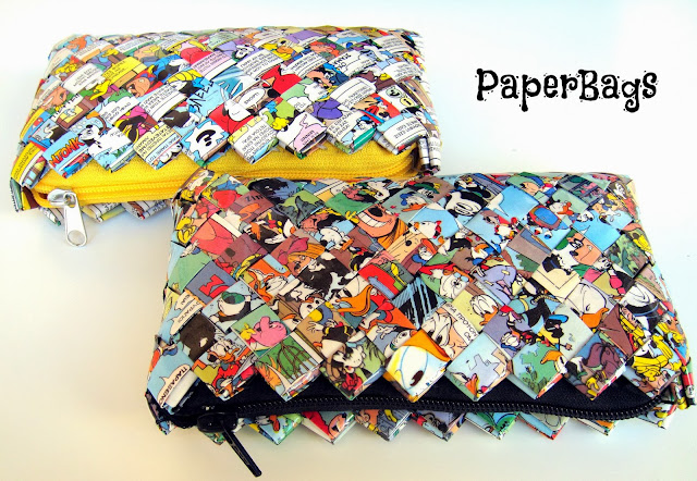 paperbags handmade accessories eco-fashion thepaperbags