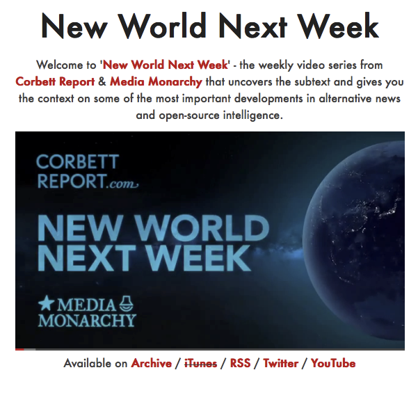 #NewWorldNextWeek – Media Monarchy