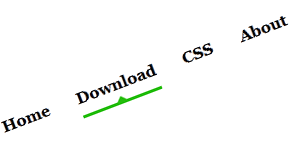 how to make underline in html