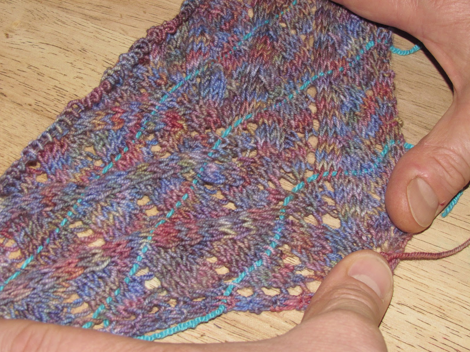 Knitting Lifelines In Lace : Yarns etc and great how not to knit a lace shawl