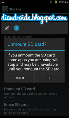 unmount sdcard android 2