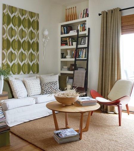 Decora y disena salas estilo vintage ideas for Living estilo romantico