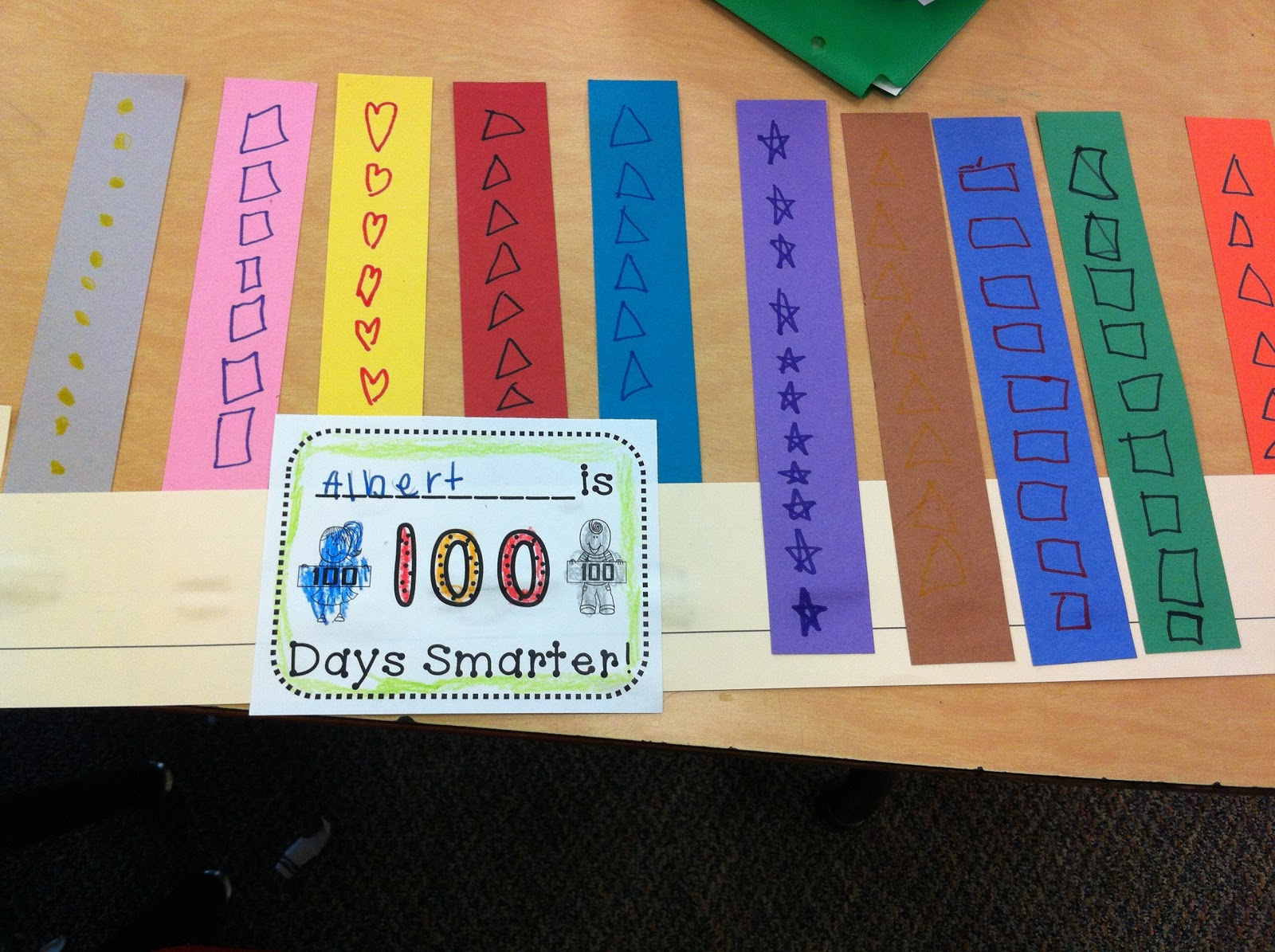 Kindergarten Kids At Play: Kindergarten Fun on the 100th Day of School