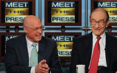 Henry Paulson y Alan Greenspan: dos complices... de la crisis