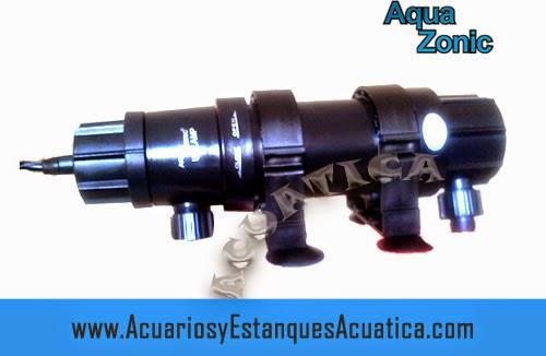 Germicida Aqua Zonic   ultravioleta acuarios y estanques 13w