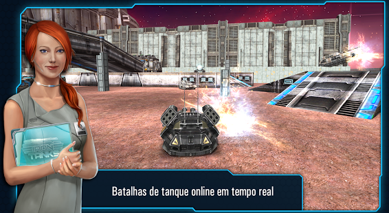 Iron Tanks APK Unlimited Money