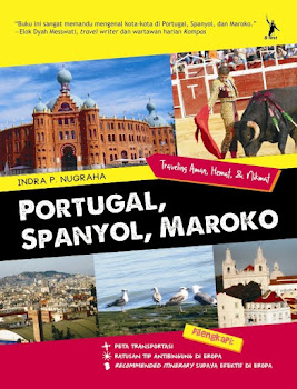 "My first book ""Portugal, Spanyol, Maroko"""