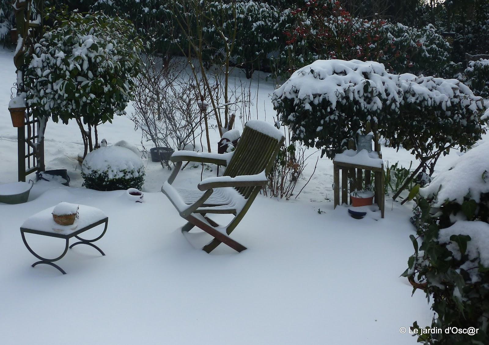 le jardin d 39 oscar blanche neige. Black Bedroom Furniture Sets. Home Design Ideas