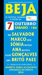 BEJA (PORTUGAL) 07-10-2017. ABRE PRAÇA RUI SALVADOR.