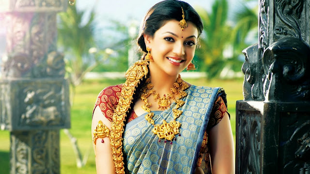 Beautiful And Spicy Actress Kajal Aggarwal HD Wallpaper