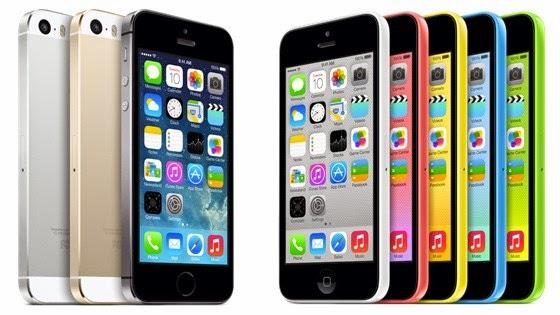 Penjualan  iPhone 5s & iPhone 5c, Dapatkan Promonya