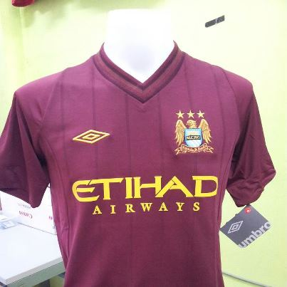 Jersey Man City Away 2013