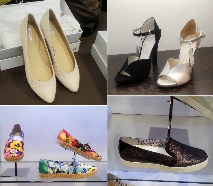geox shoes espadrilles flats heels slip-ons