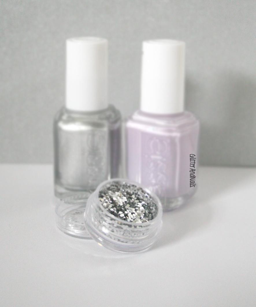 Papier Peint Mauve Pailleté - Papiers peints violet, tapisserie design intissé pas cher