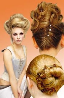 Updo Hairstyle Ideas for 2011 - Women Updo Hairstyle Gallery