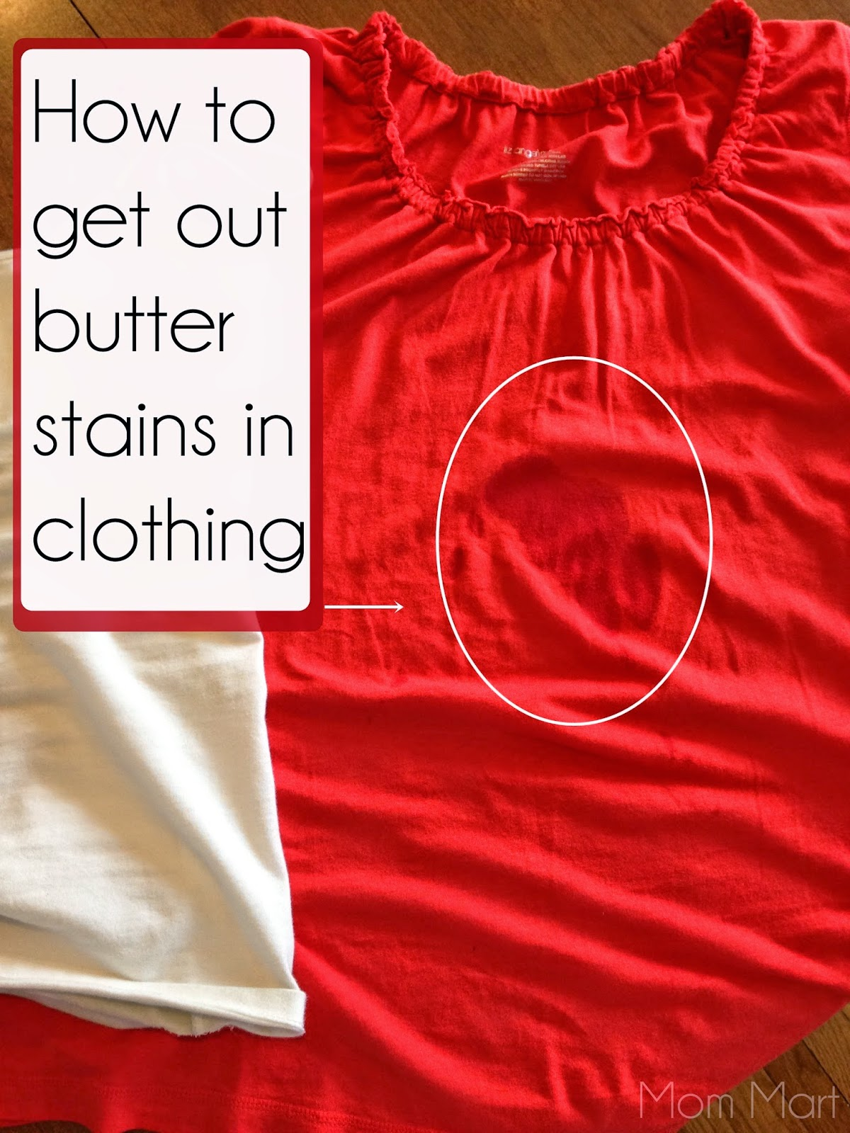 How to remove butter stains from clothing #DIY #TipsAndTricks #Solutions