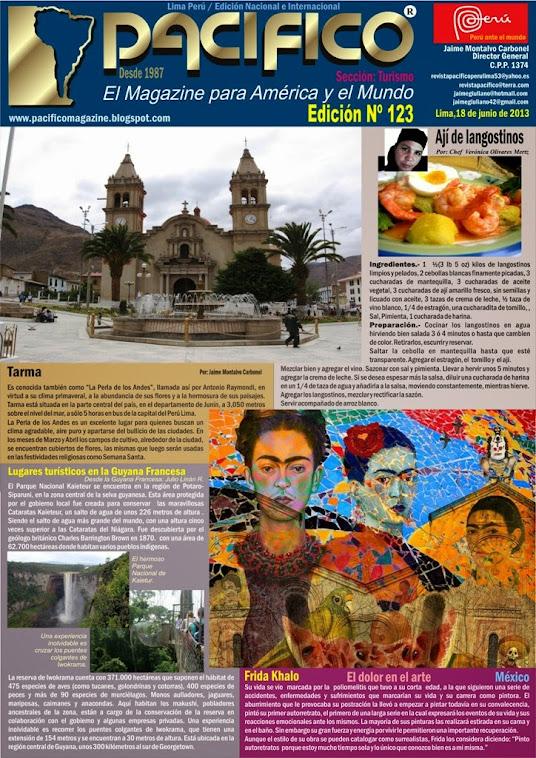 Revista Pacífico Nº 123 Turismo