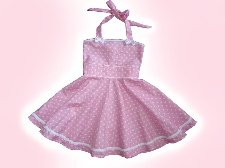 Rockabilly swingdress for lil' princesses.