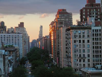 Sunset New York City Clip Art