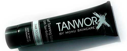 Tanworx Self-tanning lotion lookfantastic