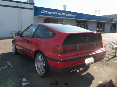 New paint on Almost Everything's Car of the Day, a 1989 Honda CRX