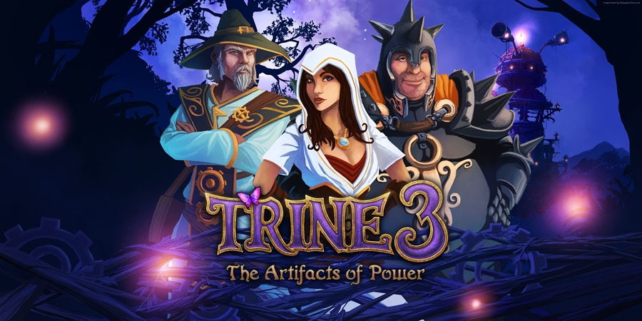Trine 3 The Artifacts of Power Download Poster