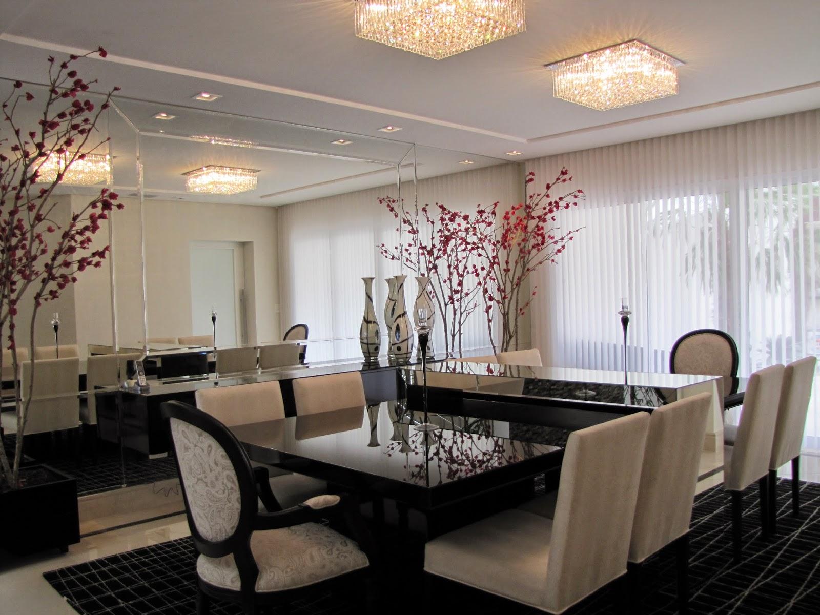 Sala De Jantar Mesa Quadrada ~ Salas de jantar com 8 e 10 cadeiras – veja mesas quadradas