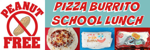 Pizza Burrito Goodbyn Hero Lunch by BentOnBetterLunches - Peanut-Free
