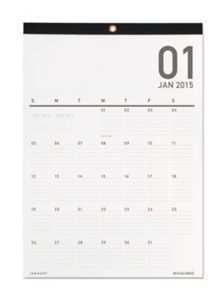 2015 wall calendar #planning
