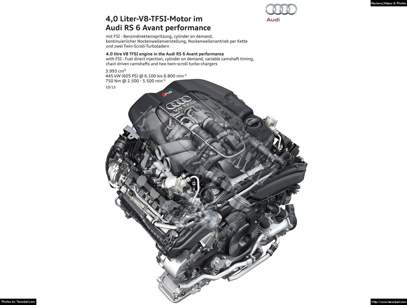 Hình ảnh xe ô tô Audi RS6 Avant performance 2016 & nội ngoại thất