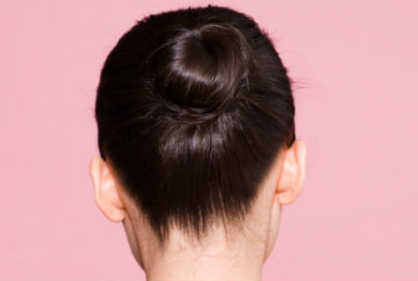 cara menggulung rambut