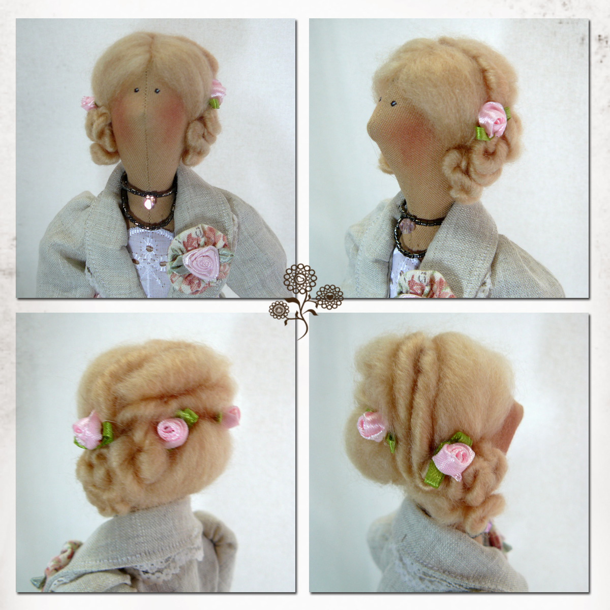 Прически куклам мк фото