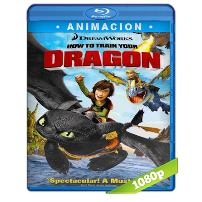 Como Entrenar A Tu Dragon (2010) BRRip Full 1080p Audio Trial Latino-Castellano-Ingles 5.1